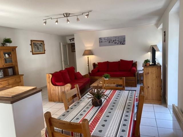 Аренда на лыжном курорте Апартаменты 3 комнат 6 чел. (4) - Résidence Alba - Brides Les Bains
