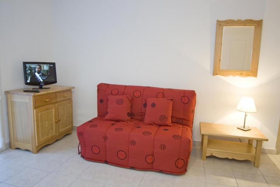 Location au ski Appartement 3 pièces 6 personnes (20) - Résidence Alba - Brides Les Bains - Canapé-lit
