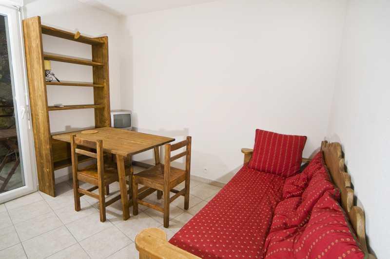 Аренда на лыжном курорте Квартира студия для 2 чел. (10.2) - Résidence Alba - Brides Les Bains - Салон