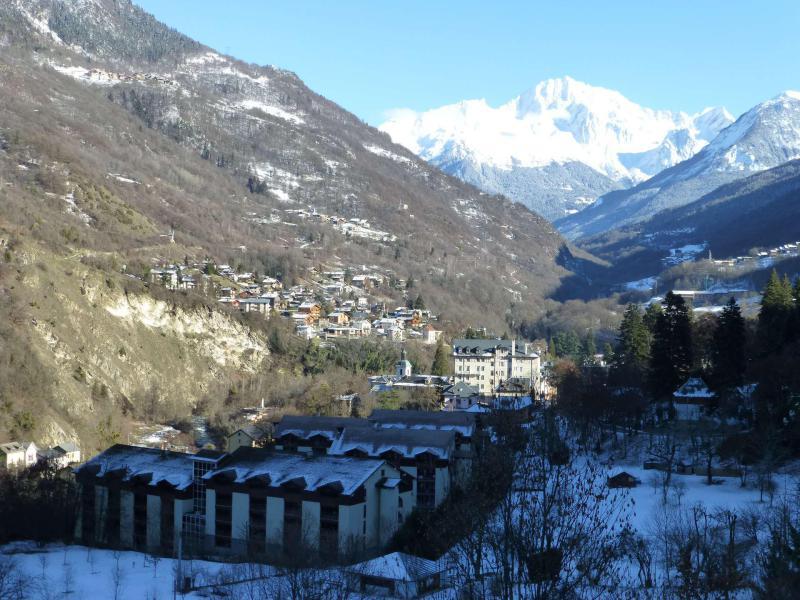 Location au ski Résidence Cybèle - Brides Les Bains - Extérieur hiver