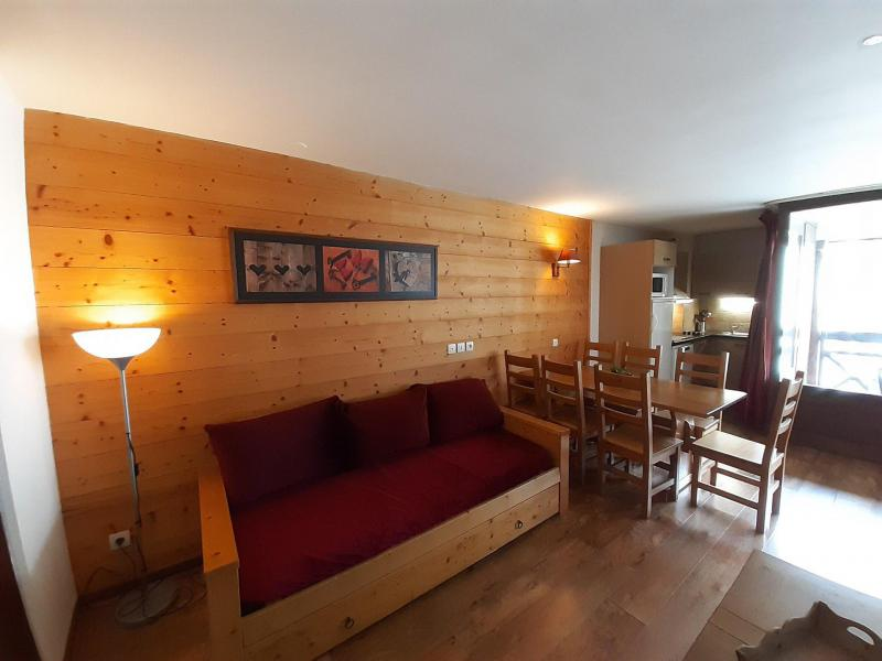 Location au ski Appartement 3 pièces 6 personnes (410) - Résidence Cybèle - Brides Les Bains - Banquette-lit tiroir
