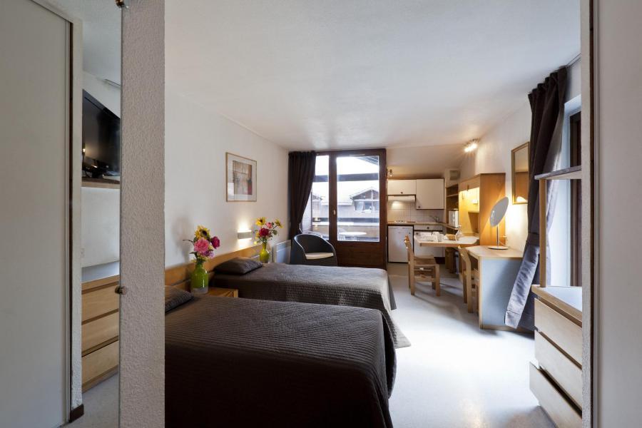 Location au ski Studio coin montagne 4 personnes (1407) - Résidence Cybèle - Brides Les Bains - Appartement