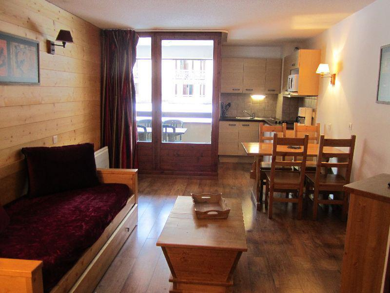 Location au ski Studio coin montagne 4 personnes (222) - Résidence Cybèle - Brides Les Bains - Séjour