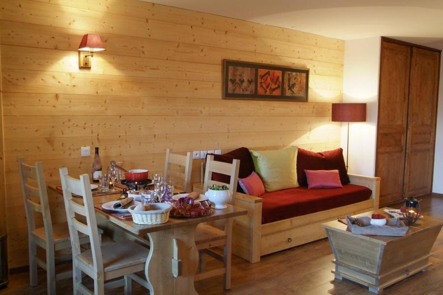 Аренда на лыжном курорте Résidence Lagrange Cybèle - Brides Les Bains - Раздвижной диван