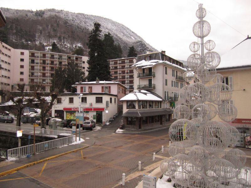 Vacances en montagne Appartement 2 pièces 6 personnes (101) - Résidence le Grand Chalet - Brides Les Bains - Extérieur hiver