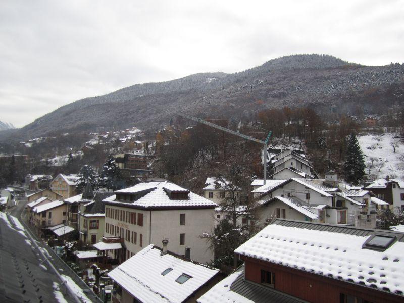 Vacances en montagne Studio coin montagne 4 personnes (504) - Résidence le Grand Chalet - Brides Les Bains - Extérieur hiver