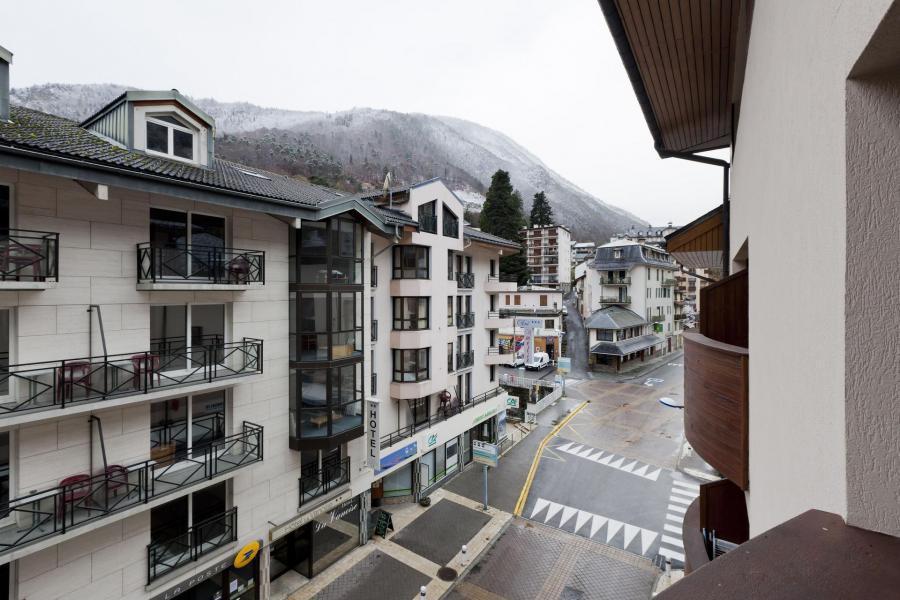 Vacances en montagne Studio coin montagne 4 personnes (305) - Résidence le Grand Chalet - Brides Les Bains - Extérieur hiver