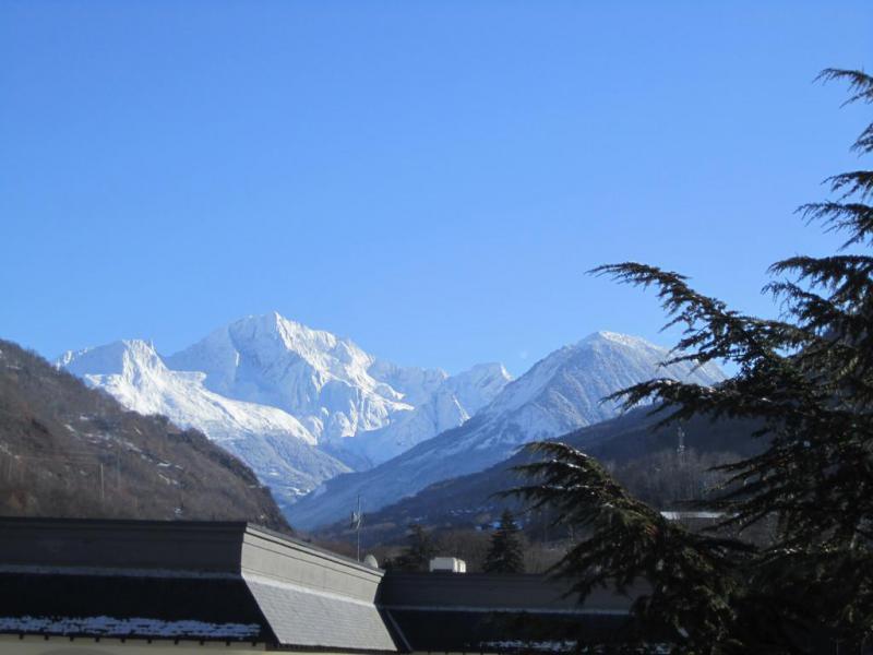 Vacances en montagne Studio 4 personnes (509) - Résidence le Grand Chalet - Brides Les Bains - Extérieur hiver