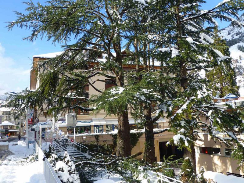 Vacances en montagne Résidence le Grand Chalet - Brides Les Bains - Extérieur hiver