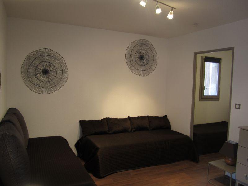 Location au ski Studio 4 personnes (102) - Résidence le Grand Chalet - Brides Les Bains - Coin séjour