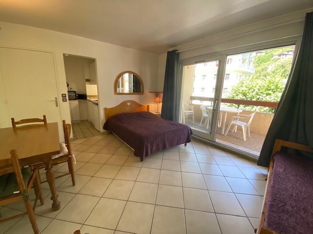 Аренда на лыжном курорте Квартира студия для 2 чел. (RDA15) - Résidence Roseland - Brides Les Bains - Салон