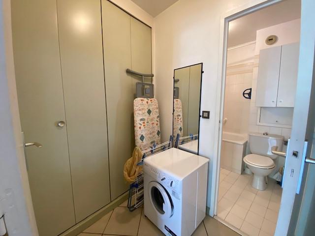 Location au ski Studio 2 personnes (RDA15) - Résidence Roseland - Brides Les Bains - Salle de bains