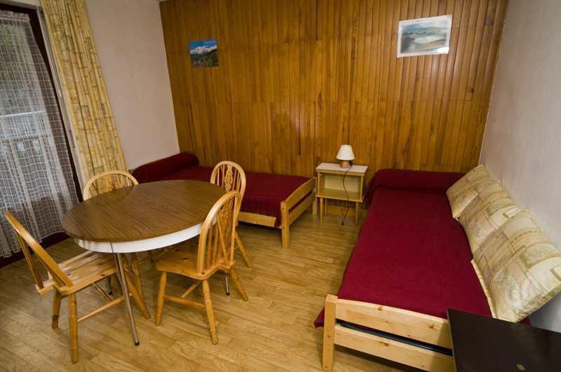 Location au ski Studio 2 personnes (215) - Résidence Royal - Brides Les Bains - Séjour