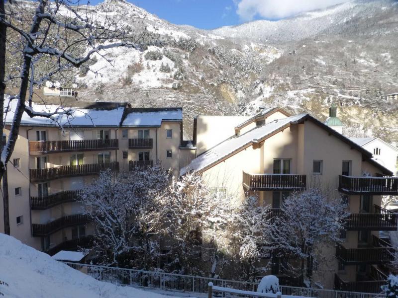 Location au ski Résidence Tarentaise - Brides Les Bains - Extérieur hiver