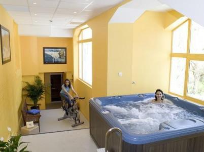 Location au ski Le Golf Hotel - Brides Les Bains - Bain à remous