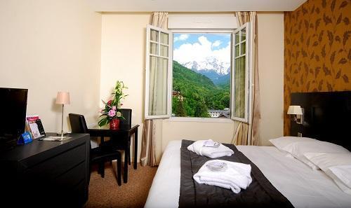 Location au ski Chambre Supérieure (2 personnes) - Le Golf Hotel - Brides Les Bains - Chambre