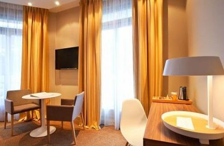 Location au ski Mercure Brides Les Bains Grand Hotel Des Thermes - Brides Les Bains - Bureau