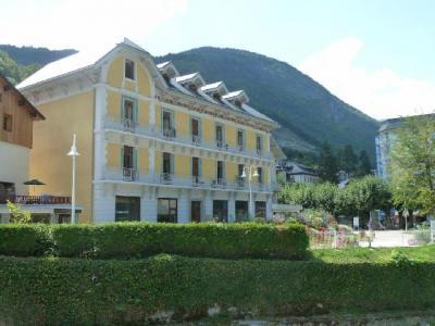 Location au ski Residence Acquadora - Brides Les Bains - Extérieur hiver