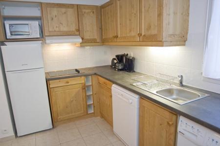 Location au ski Appartement 3 pièces 6 personnes (20) - Résidence Alba - Brides Les Bains - Kitchenette