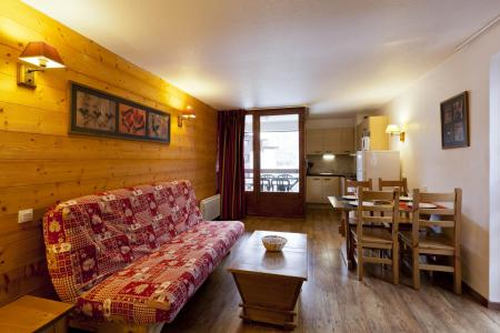Rent in ski resort Studio sleeping corner 4 people (515) - Résidence Cybèle BAT4 - Brides Les Bains