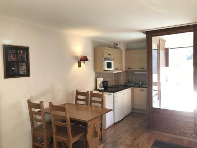Rent in ski resort Studio sleeping corner 4 people (213) - Résidence Cybèle BAT4 - Brides Les Bains - Bed-settee
