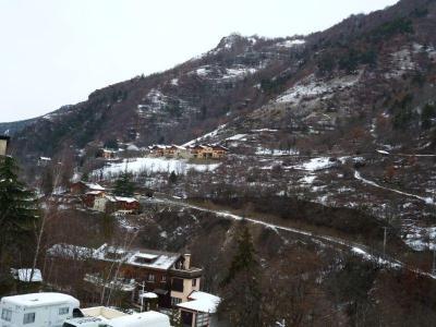 Location au ski Studio coin montagne 4 personnes (3207) - Residence Cybele - Brides Les Bains - Extérieur hiver