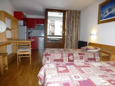 Location au ski Studio coin montagne 4 personnes (1008) - Residence Cybele - Brides Les Bains - Lit simple