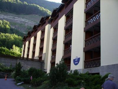 Location au ski Studio coin montagne 4 personnes (108) - Residence Cybele - Brides Les Bains - Balcon