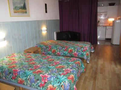 Location au ski Studio coin montagne 4 personnes (1107) - Residence Cybele - Brides Les Bains - Lit simple