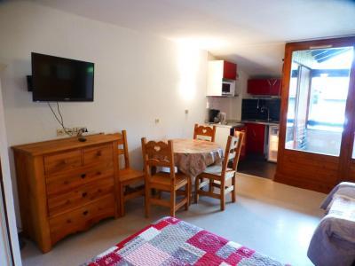 Location au ski Studio coin montagne 4 personnes (1408) - Residence Cybele - Brides Les Bains - Tv à écran plat