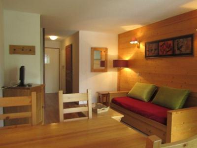 Location au ski Studio coin montagne 4 personnes (210) - Residence Cybele - Brides Les Bains - Canapé