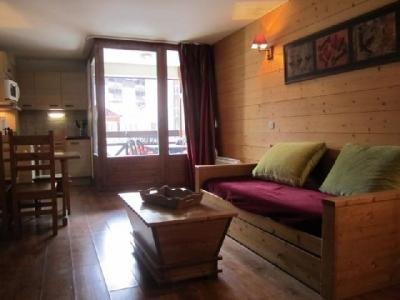 Location au ski Studio coin montagne 4 personnes (211) - Residence Cybele - Brides Les Bains - Canapé