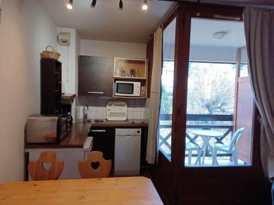 Location au ski Studio coin montagne 4 personnes (3201) - Residence Cybele - Brides Les Bains - Séjour