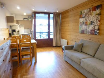Location au ski Studio coin montagne 4 personnes (3207) - Residence Cybele - Brides Les Bains - Canapé-lit