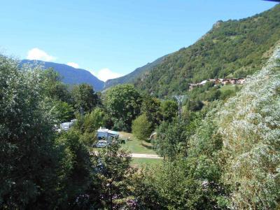 Location au ski Studio coin montagne 4 personnes (606) - Residence Cybele - Brides Les Bains - Rideau pour fermer