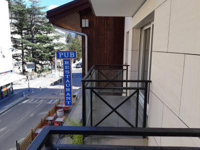 Аренда на лыжном курорте Апартаменты 2 комнат 4 чел. (21) - Résidence de la Poste - Brides Les Bains - Балкон