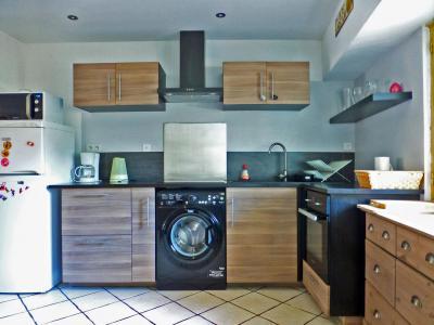 Location au ski Appartement 3 pièces 6 personnes - Residence Eaux Vives - Brides Les Bains - Cuisine