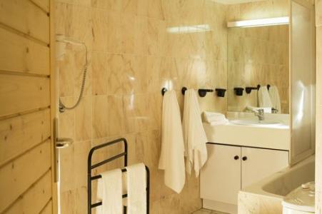 Location au ski Residence Eureca - Brides Les Bains - Salle de bains