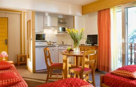 Location au ski Studio 2 personnes (ST2) - Residence Eureca - Brides Les Bains - Séjour