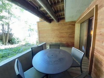 Location au ski Appartement 4 pièces 6 personnes (ALAIA) - Résidence L'Alaia - Brides Les Bains - Balcon
