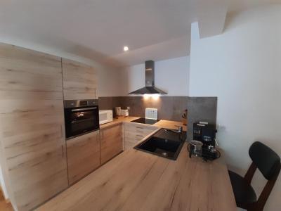 Location au ski Appartement 4 pièces 6 personnes (ALAIA) - Résidence L'Alaia - Brides Les Bains - Kitchenette