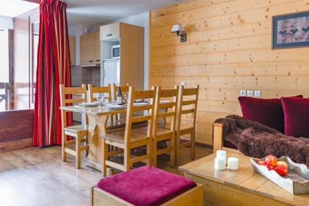 Аренда на лыжном курорте Résidence Lagrange Cybèle - Brides Les Bains - Салон