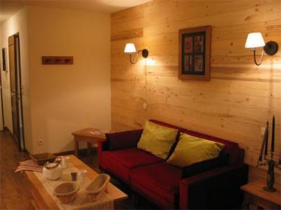 Location au ski Residence Lagrange Cybele - Brides Les Bains - Coin séjour
