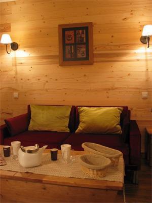 Location au ski Residence Lagrange Cybele - Brides Les Bains - Banquette-lit