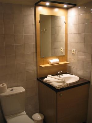 Location au ski Residence Lagrange Cybele - Brides Les Bains - Salle d'eau