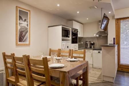 Аренда на лыжном курорте Апартаменты 4 комнат 6 чел. (321) - Résidence le Grand Chalet - Brides Les Bains - Столова&