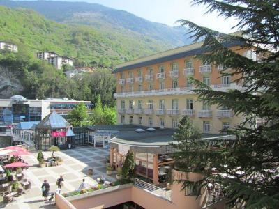 Location au ski Studio 2 personnes (212) - Résidence le Grand Chalet - Brides Les Bains