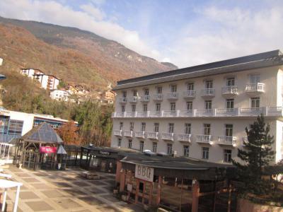 Location au ski Studio coin montagne 4 personnes (114) - Résidence le Grand Chalet - Brides Les Bains
