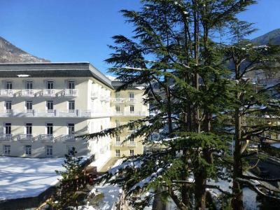 Location au ski Studio coin montagne 4 personnes (314) - Residence Le Grand Chalet - Brides Les Bains - Extérieur hiver