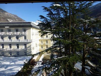 Location au ski Studio coin montagne 4 personnes (412) - Residence Le Grand Chalet - Brides Les Bains - Extérieur hiver